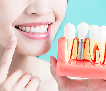 What is the difference between zirconia and titanium dental implants