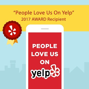 Yelp Awards Sticker