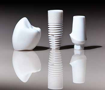Patients of Dr. Al A. Fallah love the beauty and biocompatibility of metal-free zirconia dental implants. In Carlsbad,